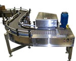Case Conveyor with Pusher